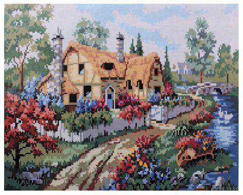 """Алмазная вышивка-мозаика """"Сельский дом"""" (400x500 мм; арт. 7713000) — фото, картинка"""