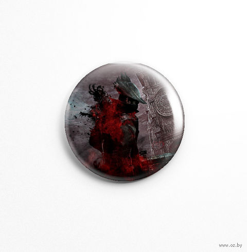 "Значок ""Bloodborne"" (арт. 253) — фото, картинка"