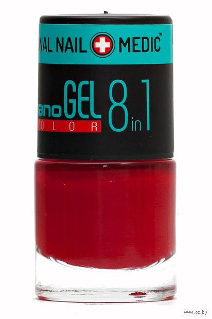 """Лак для ногтей """"Nano Gel Color"""" (тон: 09, сердолик) — фото, картинка"""