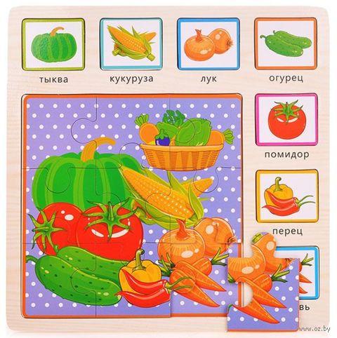 "Рамка-вкладыш ""Овощи"" (арт. D0156-3) — фото, картинка"