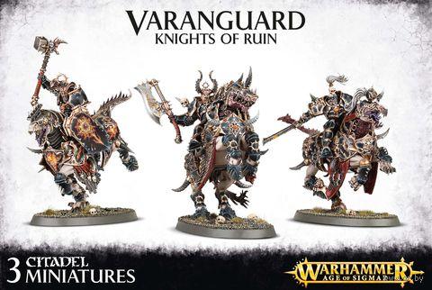 Warhammer Age of Sigmar. Everchosen. Varanguard Knights Of Ruin (83-51) — фото, картинка