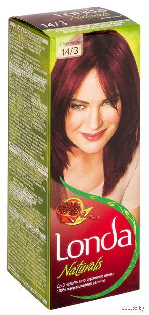 """Крем-краска для волос """"Londacolor. Naturals"""" (тон: 14/3, дикая вишня)"""