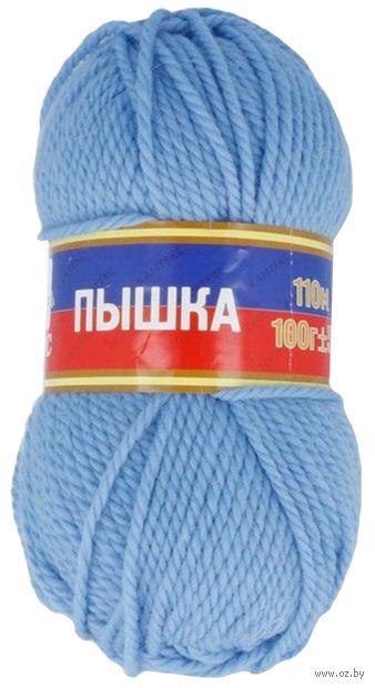 "Пряжа ""Камтекс. Пышка №015"" (100 г; 110 м; голубой) — фото, картинка"