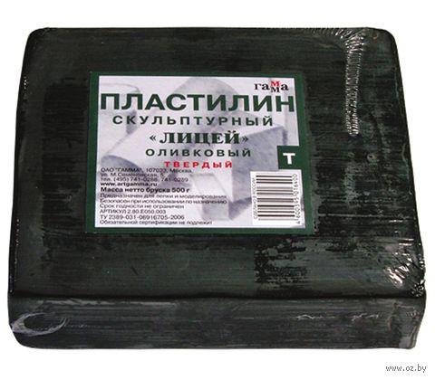"""Пластилин скульптурный """"Оливковый"""" Т (500 г)"""