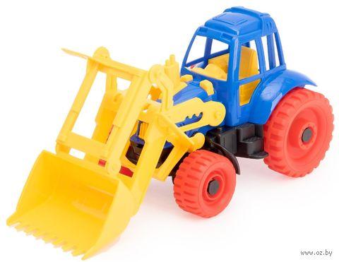"Игрушка ""Трактор с ковшом"""