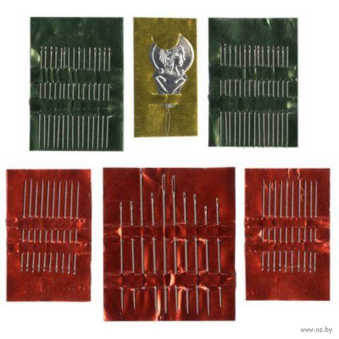 Иглы для шитья (60 шт.) — фото, картинка
