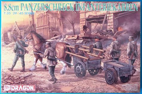 "Набор миниатюр ""8.8cm Panzerschreck Infanteriekarren"" (масштаб: 1/35) — фото, картинка"