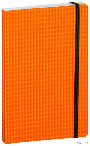 """Блокнот в клетку """"Study Up"""" (А5; оранжевый) — фото, картинка"""