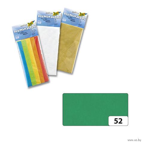 Бумага папиросная (темно-зеленый; 500х700 мм; 5 листов)