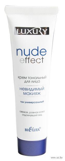"""Тональный крем для лица """"Nude Effect"""" тон: универсальный — фото, картинка"""