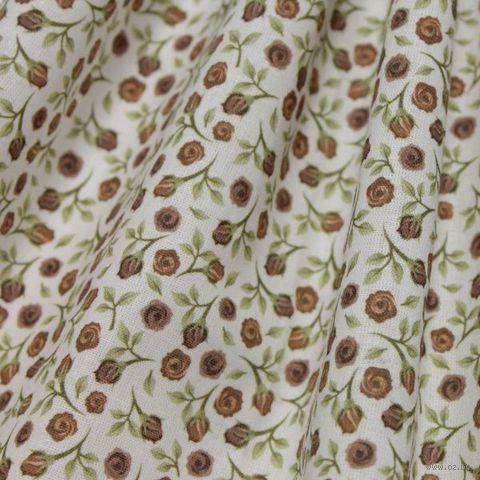 """Ткань """"Акварельные розочки"""" (48х50 см; арт. AM572006) — фото, картинка"""