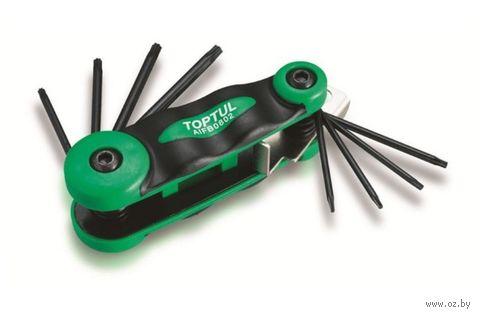 """Ключ """"Torx"""" (8 шт.; T6-T25 мм) — фото, картинка"""