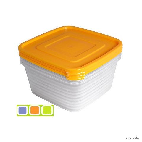 """Набор контейнеров для продуктов """"Унико"""" (3 шт.; 0,45 л) — фото, картинка"""