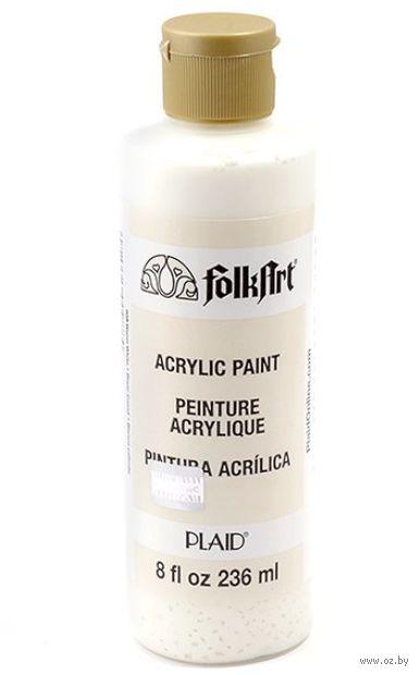 "Краска акриловая ""FolkArt. Acrylic Paint"" (теплый белый, 236 мл; арт. PLD-00988)"