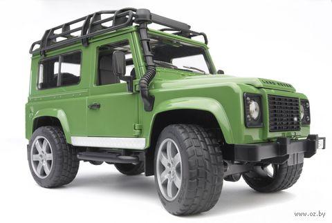 """Модель машины """"Внедорожник Land Rover Defender"""" (масштаб: 1/16)"""