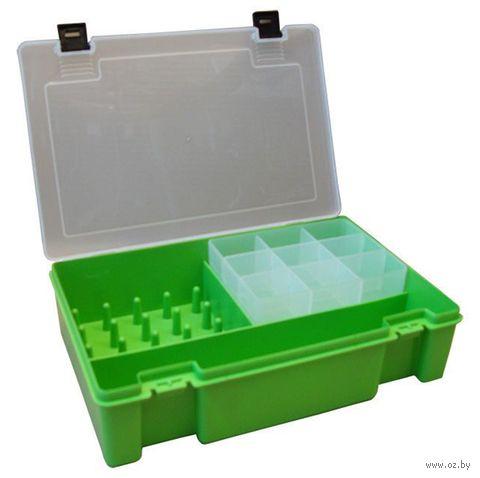 Органайзер для рукоделия (салатовый; 11 отделений) — фото, картинка