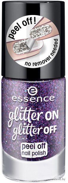 "Лак для ногтей ""Glitter On Glitter Off"" тон: 04 — фото, картинка"
