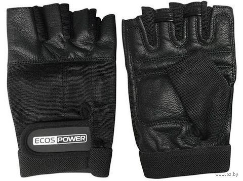 Перчатки для фитнеса 5103-BLL (L; чёрные) — фото, картинка