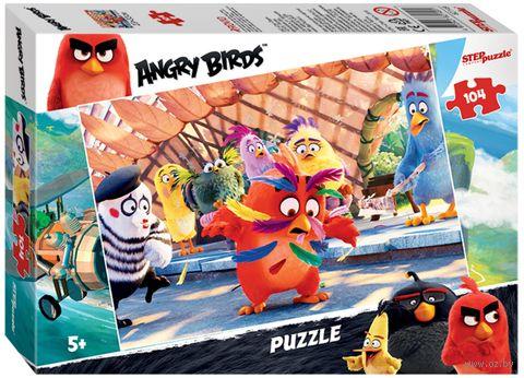 """Пазл """"Angry Birds"""" (104 элемента) — фото, картинка"""