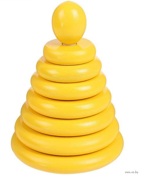 """Пирамидка """"Желтая"""" (8 элементов) — фото, картинка"""