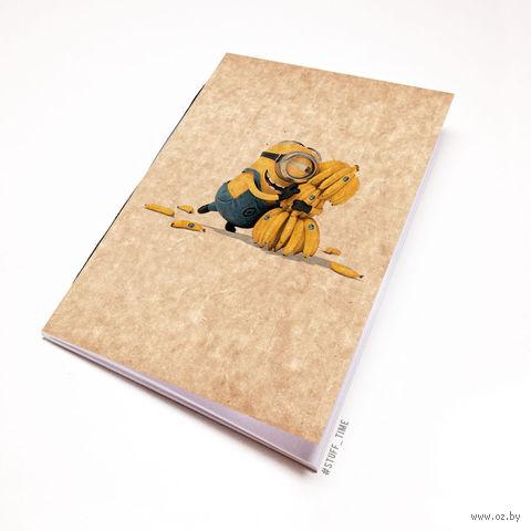 """Блокнот крафт """"Миньоны"""" (А7; арт. 224) — фото, картинка"""