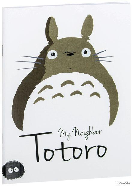 """Блокнот белый """"Тоторо"""" А5 (арт. 118)"""