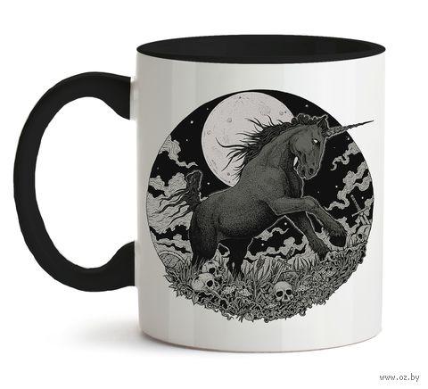 """Кружка """"Dark Unicorn"""" (001)"""