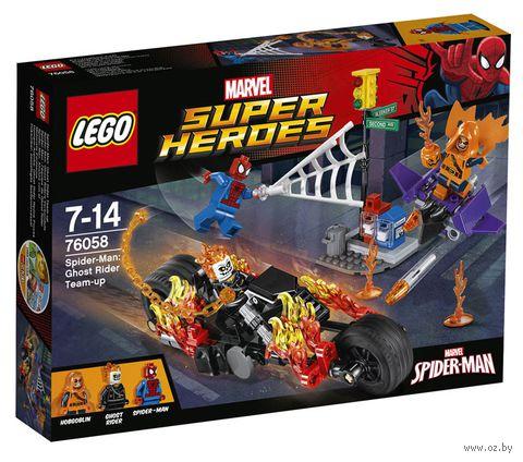 """LEGO Super Heroes """"Человек-паук: союз с Призрачным гонщиком"""""""