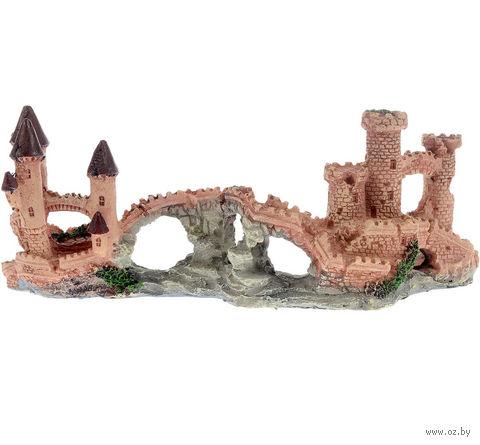 """Декорация для аквариума """"Замок"""" (22х7,5х10 см) — фото, картинка"""