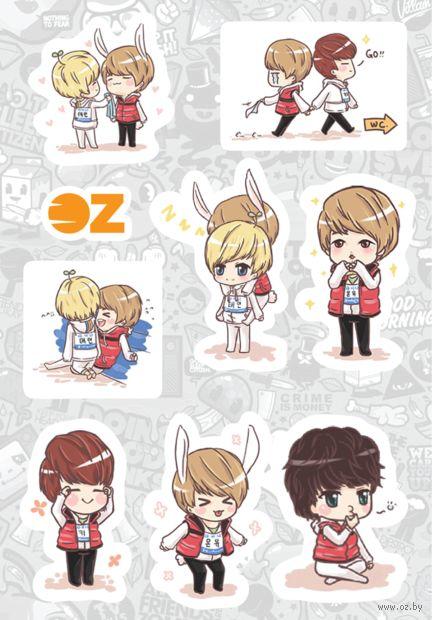 """Набор наклеек """"Shinee"""" (А6) — фото, картинка"""