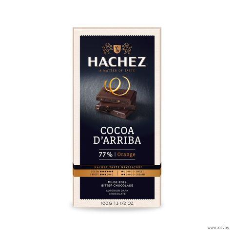 "Шоколад горький ""Сocoa d'Arriba. Апельсин"" (100 г) — фото, картинка"