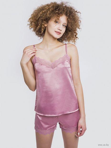 """Пижама женская """"592289"""" (розовый) — фото, картинка"""