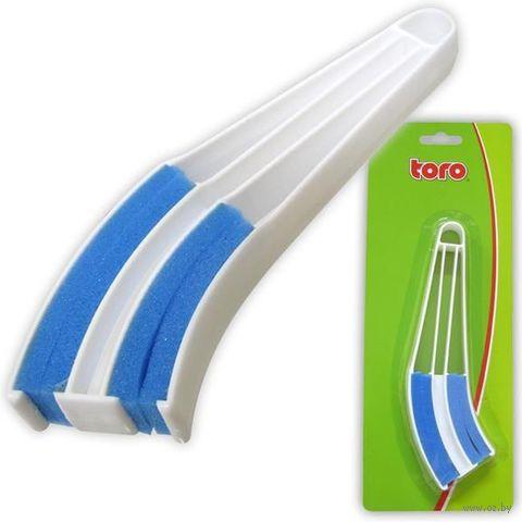 Щетка для жалюзи пластмассовая (205 мм)