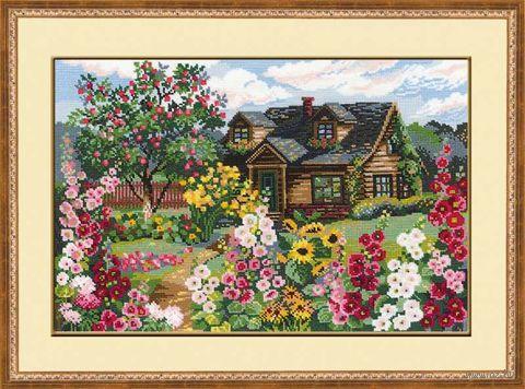 """Вышивка крестом """"Цветущий сад"""" (арт. 978)"""