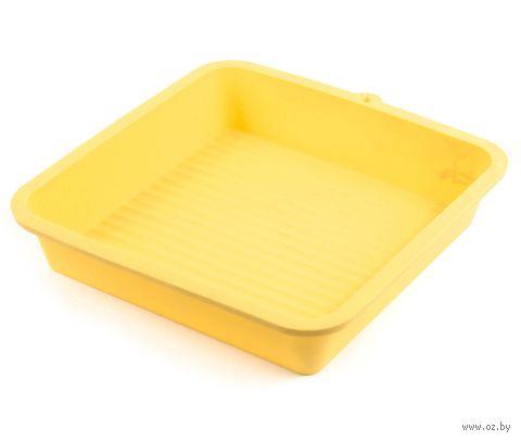Форма для выпекания силиконовая (22,5*22,5*3,9 см, арт. KL36P91A)