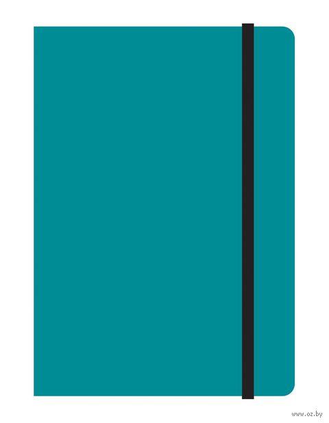 """Блокнот в клетку """"Study up"""" (А6; голубой)"""