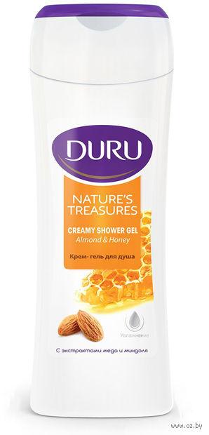 """Гель для душа """"Natures Treasures. C экстрактами меда и миндаля"""" (250 мл) — фото, картинка"""