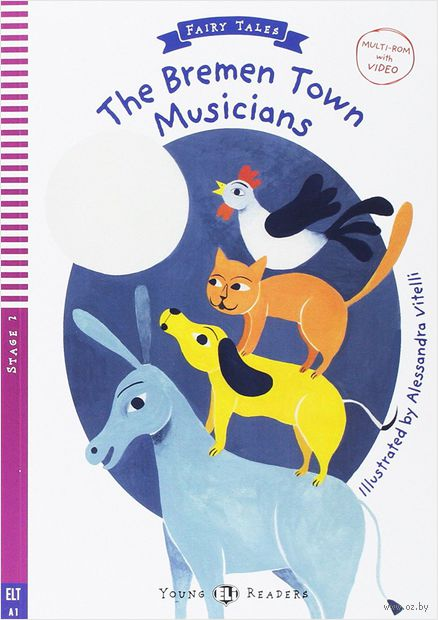 The Bremen Town Musicians (+ CD) — фото, картинка