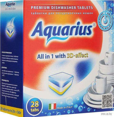 "Таблетки для посудомоечных машин ""All in 1"" (28 шт.) — фото, картинка"