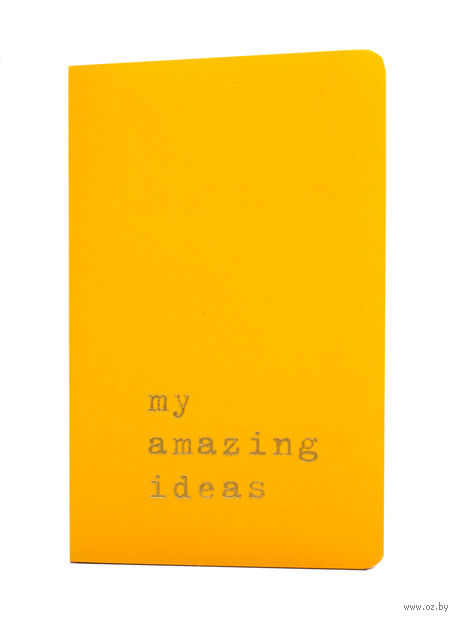 "Записная книжка ""Volant. My Amazing Ideas"" (А6; желтая)"