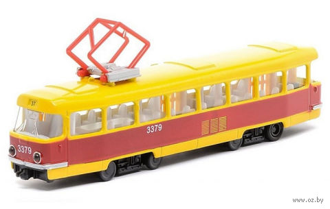 "Модель машины ""Трамвай"" (масштаб: 1/43) — фото, картинка"