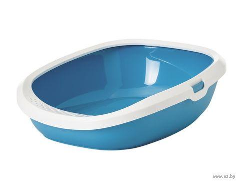 """Туалет для кошек """"Gizmo Medium"""" (44х35,5х12,5 см; синий) — фото, картинка"""