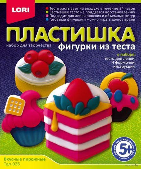 """Набор для лепки из теста """"Вкусные пирожные"""" — фото, картинка"""