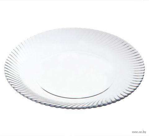 "Тарелка стеклянная ""Diamond"" (250 мм) — фото, картинка"