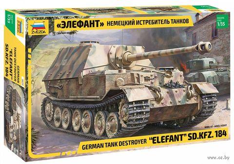 """Сборная модель """"Немецкий истребитель танков """"Элефант"""" SD.KFZ.184"""" (масштаб: 1/35) — фото, картинка"""