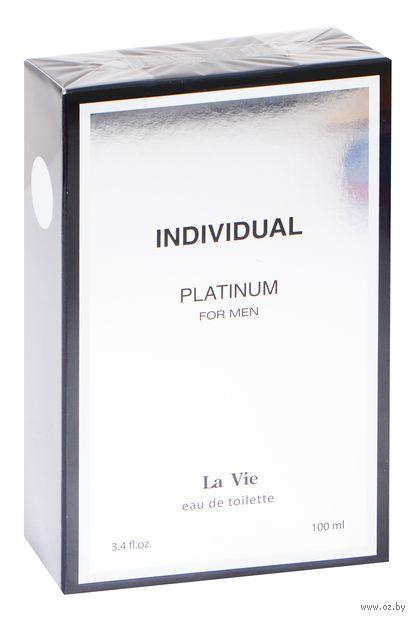 "Туалетная вода для мужчин ""Individual Platinum"" (100 мл) — фото, картинка"