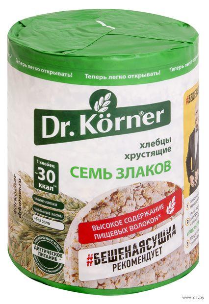 """Хлебцы мультизлаковые """"Dr. Korner. Смесь злаков"""" (100 г) — фото, картинка"""