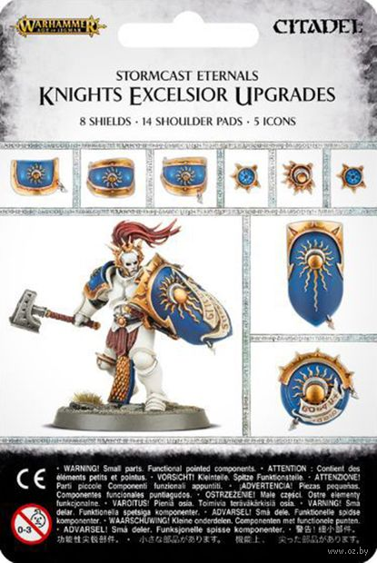 Warhammer Age of Sigmar. Stormcast Eternals. Knigts Excelsior Upgrades (96-21) — фото, картинка