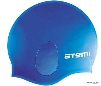 Шапочка для плавания (синяя; арт. EC104) — фото, картинка
