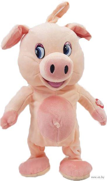 """Мягкая музыкальная игрушка """"Свинка"""" (29 см) — фото, картинка"""